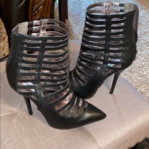 Steve Madden cage booties